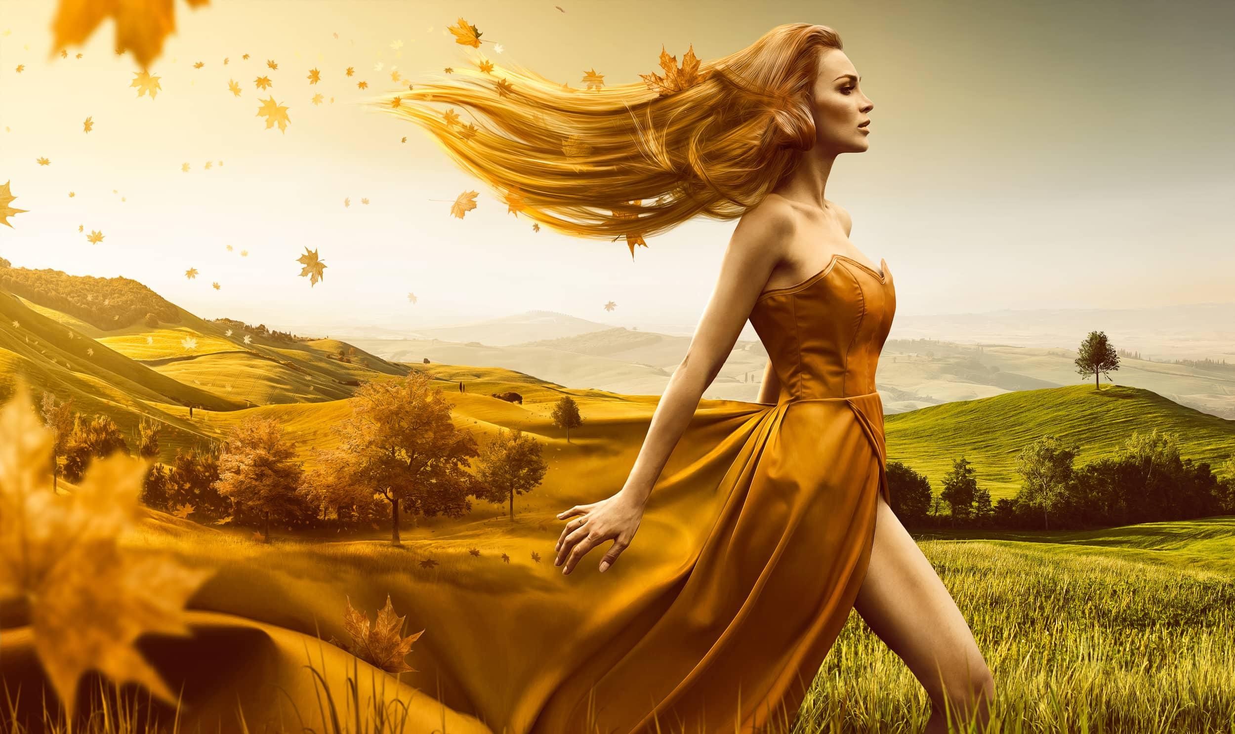 Artikel über mein Adobe-Artwork zum Thema Herbst | Inklusive Video