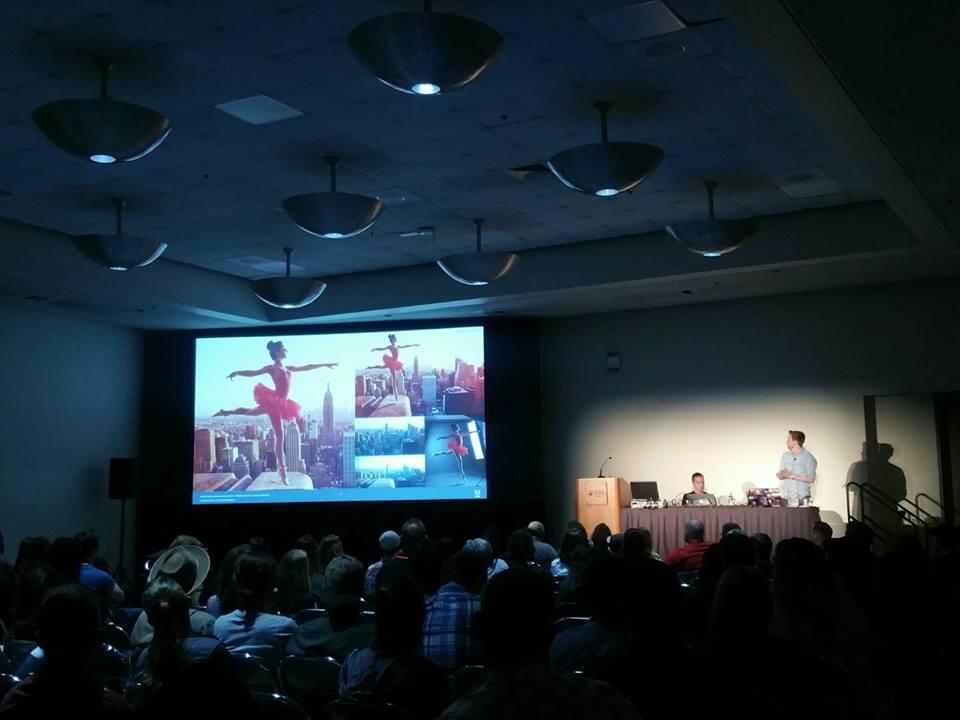 Mein Vortrag auf der Adobe MAX 2016