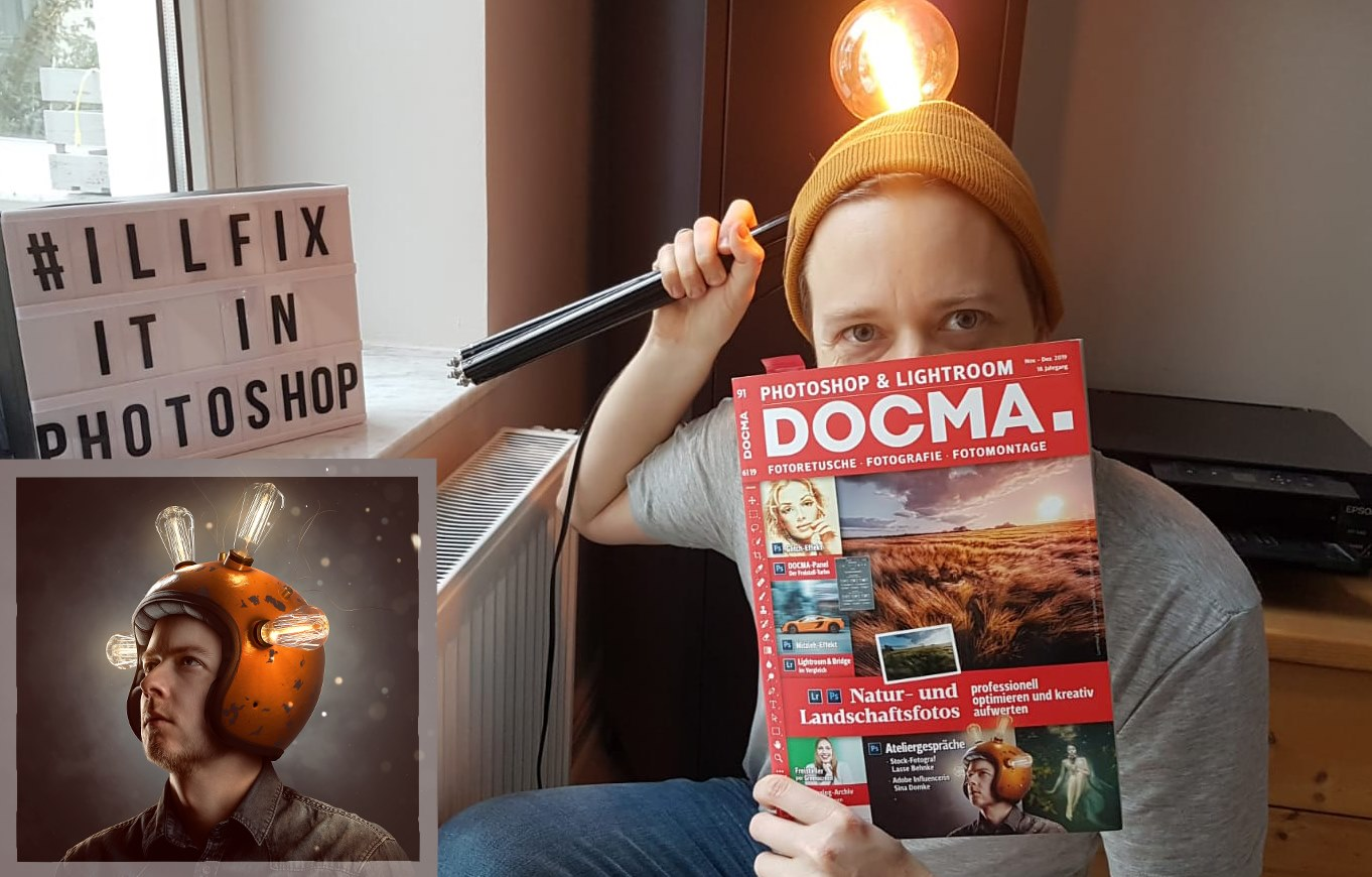 Interview in der DOCMA Nov 19