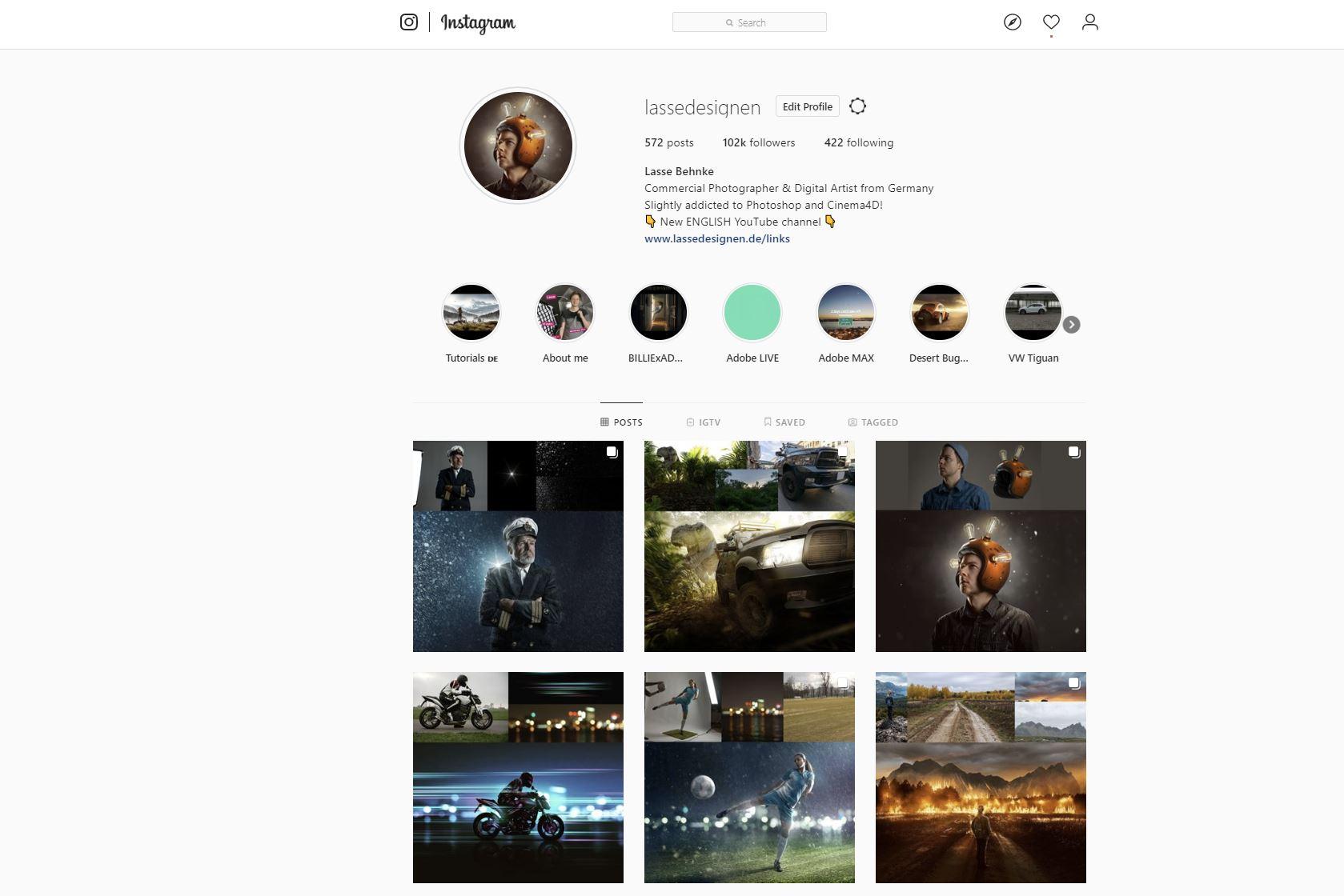 Meilenstein! Dankbar für 100.000 Follower auf Instagram