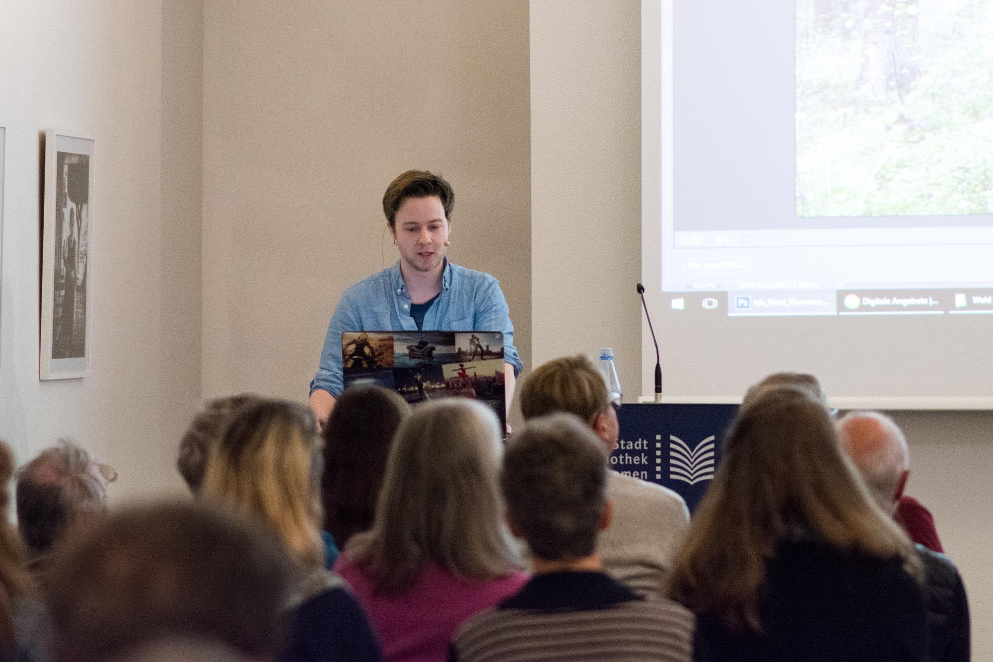 Vortrag in der Stadtbibliothek Bremen